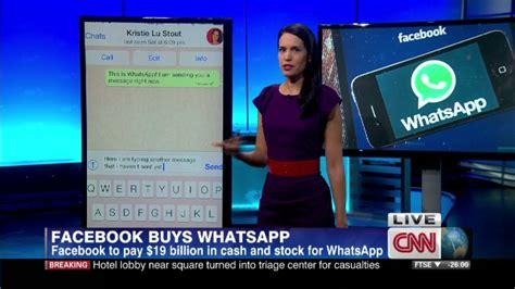 Why Did Facebook Buy Whatsapp?  Cnn Video