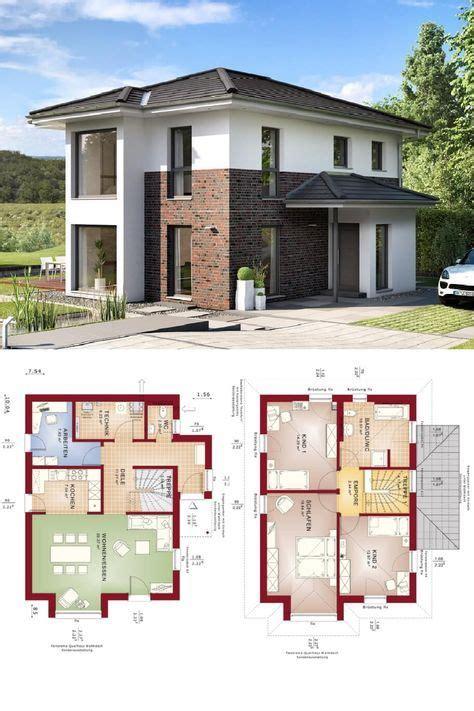 Stadtvilla Moderne Architektur Grundriss by Stadtvilla Modern Mit Klinker Putz Fassade Haus