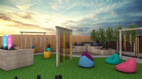 Landscape design is both an art and a purposeful process. Sensory Landscape Design - HU3D
