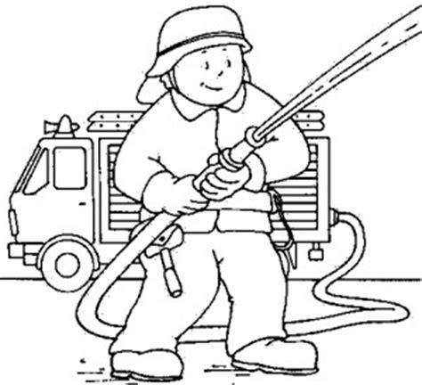 Sie sind sich nicht bewusst von der unheimlichen seite des feuers. Mann Mit Feuerwehrschlauch 2 Ausmalbild & Malvorlage ...