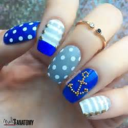 Nautical nails colorful and unique summer nail art designs to try