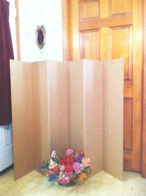 folding screens room dividers cardboard room divider made in america misc