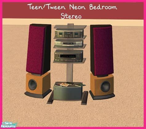 Bedroom Stereo by Sinful Aussie S Tween Neon Bedroom Stereo