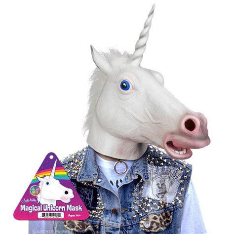 magical unicorn mask archie mcphee co