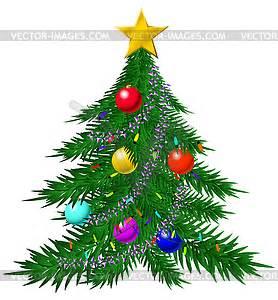 Weihnachtsbaum Mit Rosa Kugeln : weihnachtsbaum mit kugeln und girlanden vector clipart ~ Orissabook.com Haus und Dekorationen