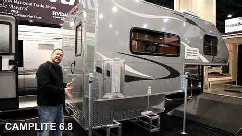 camplite  aluminum truck campers youtube