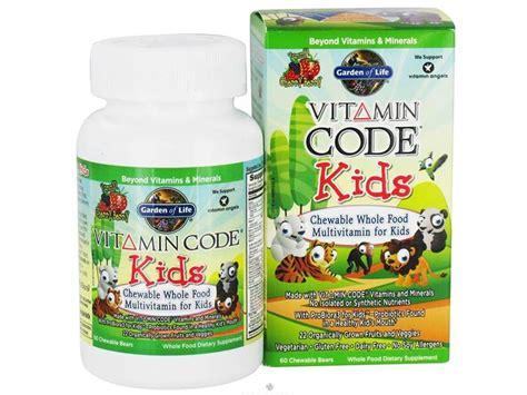 best vitamins for inhabitots 894   Garden of Life Vitamin Code Kids
