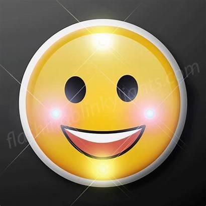 Emoji Smile Face Blinking Flashingblinkylights Lights Classic