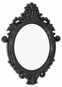 Vittoria Wall Mirror Black Be Fabulous