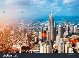 Kuala Lumpur Skyline Petronas Towers Other Stock Photo ...