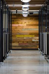 eclectic hall design by portland design build barnwood With barnwood interior walls