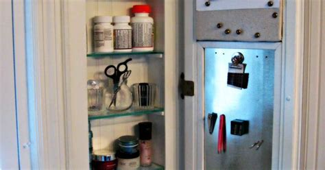 Beadboard Medicine Cabinet : Diy Beadboard Cabinet For Our Small Bathroom. The Other
