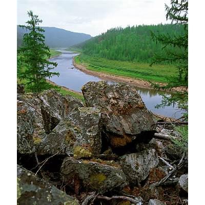 Заповедная Россия: река Крестях в Олекминском заповеднике