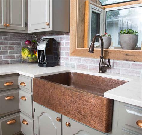 kitchen with copper sink le cuivre 233 l 233 ment d 233 coratif intemporel des belles 6503