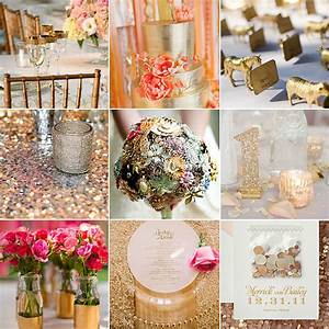 hoping to strike gold with your big day decor popsugar With gold wedding decoration ideas