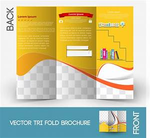 brochure template free vector in adobe illustrator ai With free ai templates