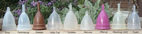 Mooncup Vs Cup - comparisons 171 menstrual cups