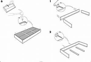 Ikea Beddinge Bed Storage Box Assembly Instruction 9