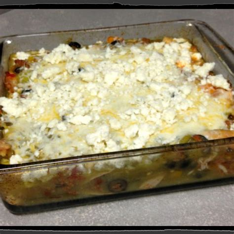 Yes, this cheese and egg based casserole is perfect for any meal and would make a great dish to share with a friend or. Tortilla-less Mexican Casserole! Almost ZERO Carbs! It is ...