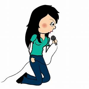 Singer With Microphone Clipart - Clipart Suggest