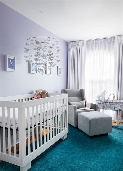 how to the right colors for a modern nursery design