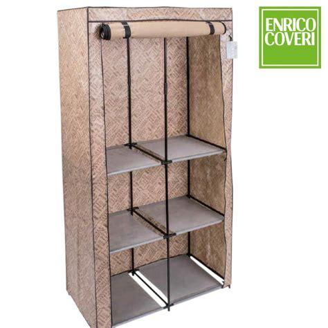armadio guardaroba armadio cabina guardaroba appendiabiti acciaio tessuto