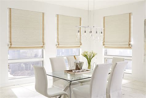 Roman Shades : Woven Woods & Bamboo Shades In Vermont