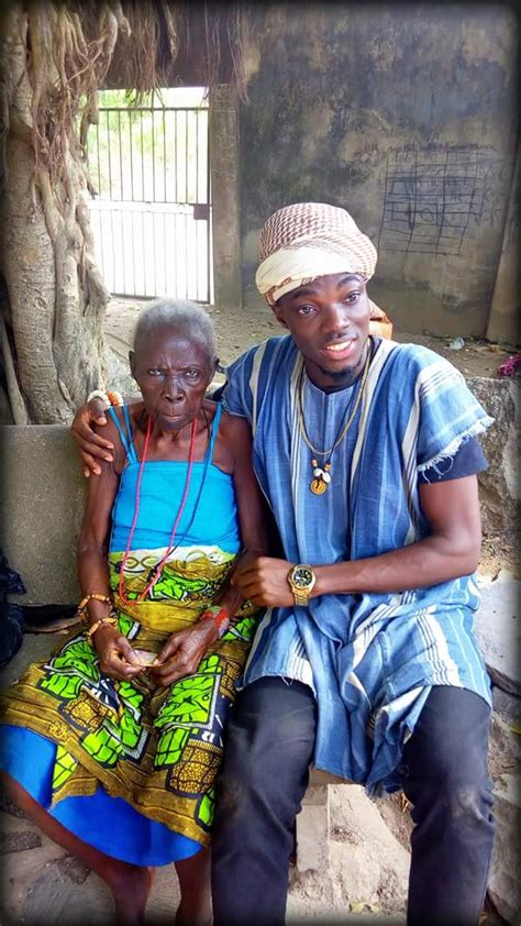 133-Year-Old Woman Who Lives On Top Of Olumo Rock (Photos ...
