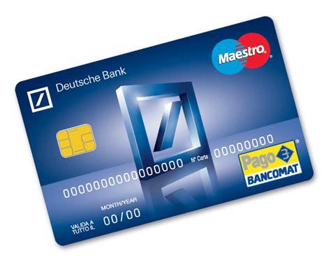 Deutsche Bank Karte Bestellen