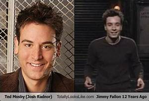 Picture suggestion for Jimmy Fallon Ted Mosby