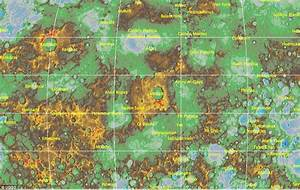 Mercury topographic model reveals its craters and ...