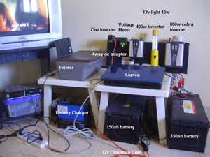 Home Battery Backup Power Bank