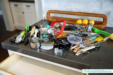 how to organize your kitchen utensils organized kitchen utensil drawer the side up 8785