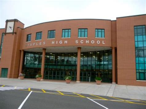 staples high school ranked no 3 in connecticut in website