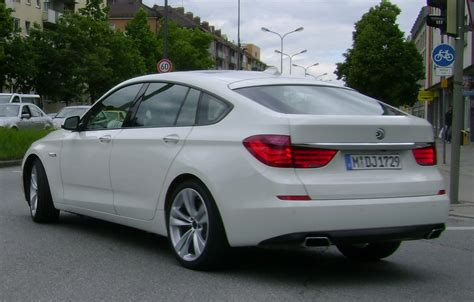 White Bmw 5 Series Gt Spotted