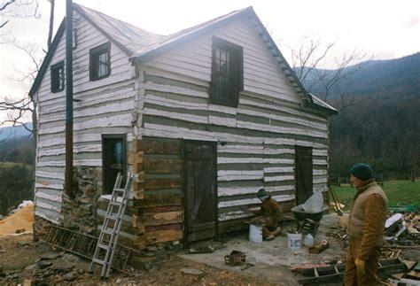 log cabin repair part  handmade houses  noah bradley