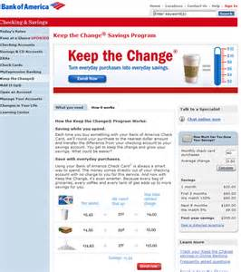 Bank of America Change Debit Card Picture