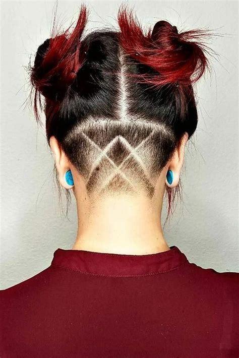 pinterest jasmineisrael hair haare undercut
