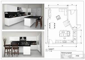 Floor, Plans, Small, Kitchen, With, Islands, Galley, Island, Powder, Room