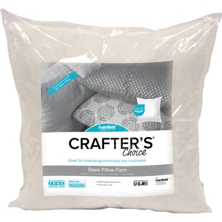 pillow inserts walmart crafter s choice pillow insert 16 quot x 16 quot walmart