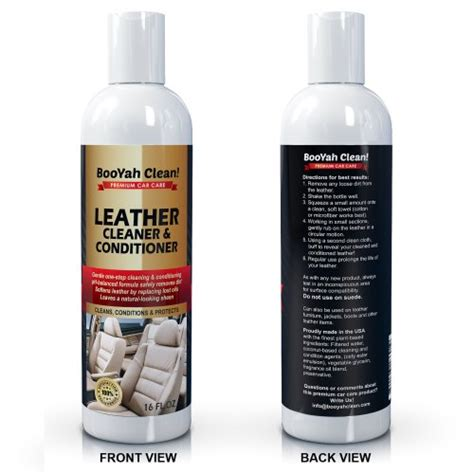 Boat Seat Cleaner And Protector by Leather Cleaner Conditioner By Kevianclean Auto
