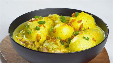 resep opor telur kuning masak  hari