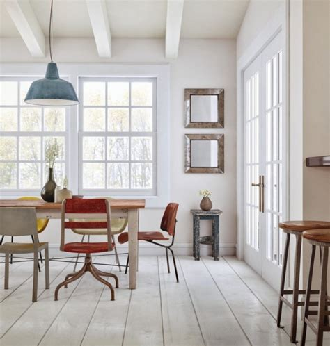 Fresh White Based Dining Spaces by Fresh White Based Dining Spaces