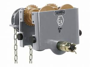 Atex Explosion Proof Hand Geared Trolley For Manual Chain
