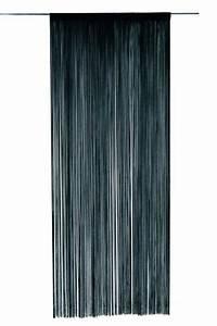 Rideau Fil Noir : photo rideau de fils noir ~ Teatrodelosmanantiales.com Idées de Décoration