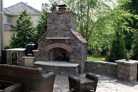 outdoor fireplaces fire pits kansas city kansas ks