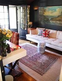 good looking office color ideas Good Looking trellis rug in Home Office Eclectic with ...