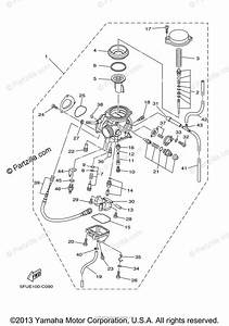 Yamaha Atv 2004 Oem Parts Diagram For Carburetor