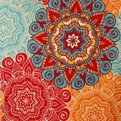 Fabric Mandala Solid Yard Fabrics Roll Printing