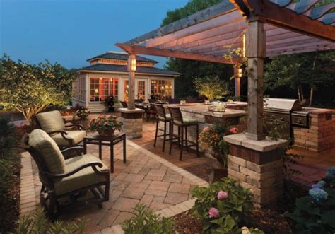 outdoor kitchen designs   inspire